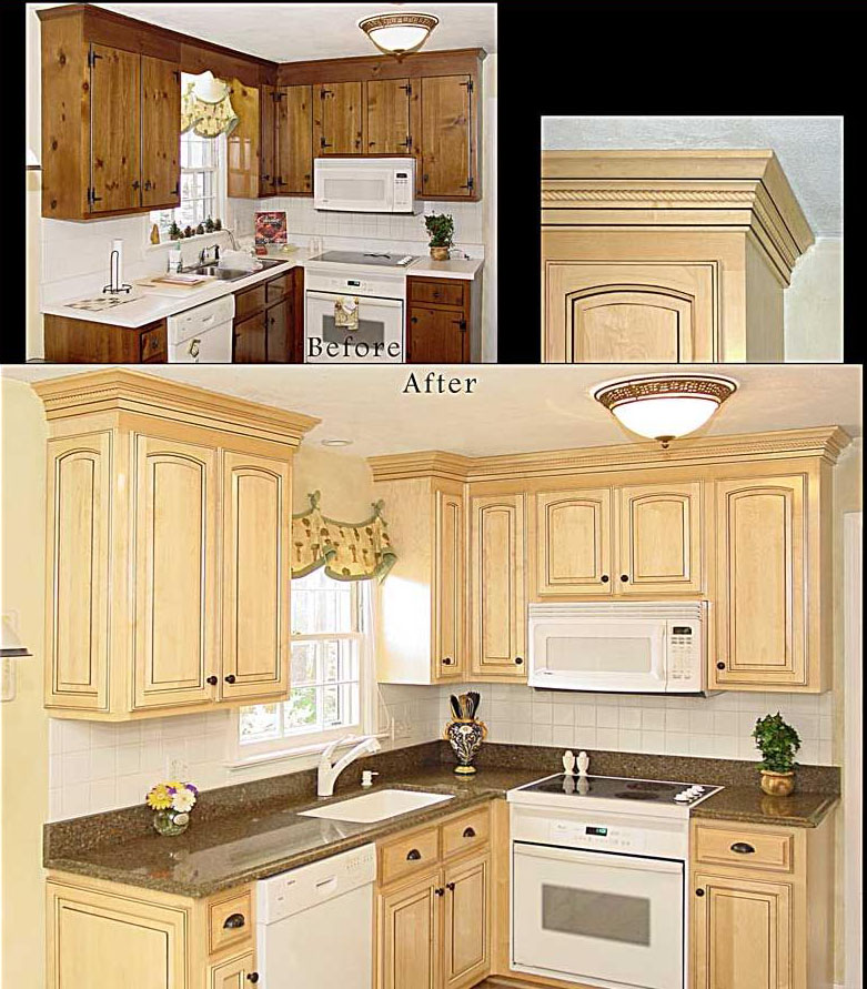 Reface kitchen cabinets howtoword design ideas for Kitchen cabinet refacing ideas