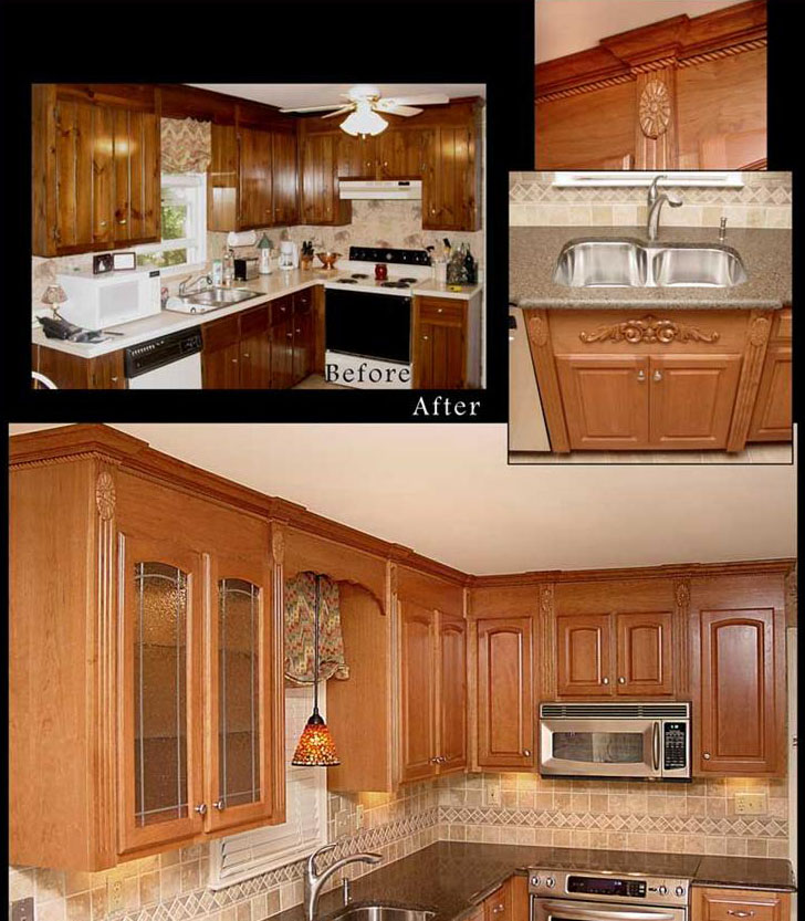 How Reface Kitchen Cabinets: Reface Kitchen Cabinets Photo Gallery