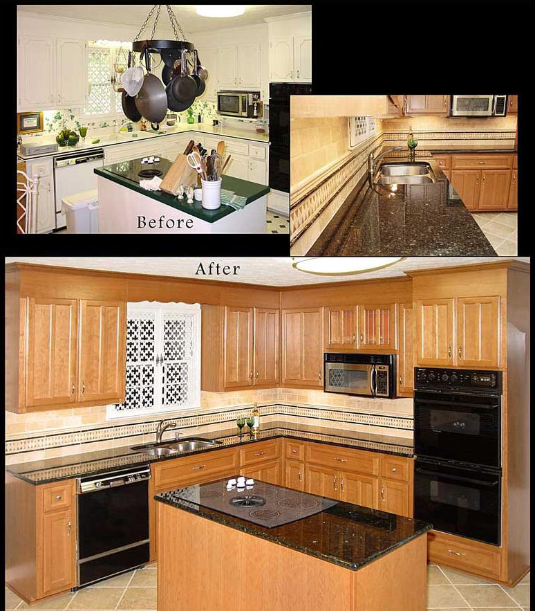 Kitchen Cabinets Reface Or Replace: Reface Kitchen Cabinets Photo Gallery